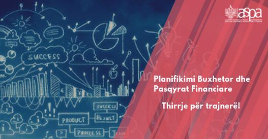 Planifikim Buxhetor dhe Pasqyra Financiare