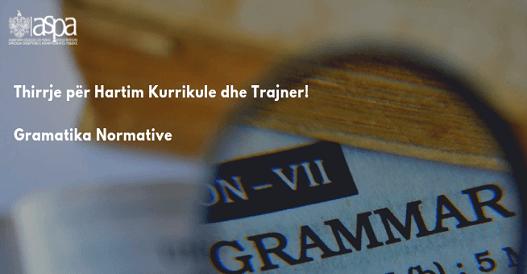 Gramatika normative