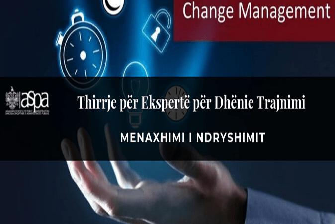 Menaxhimi i Ndryshimit