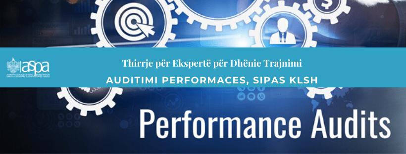 Auditimi i performances