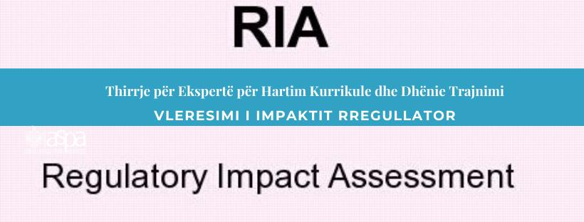Vlerësimi i Impaktit Rregullator